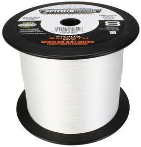 Šňůra Spiderwire Stealth Smooth 8 White 49,20kg - 0,40mm