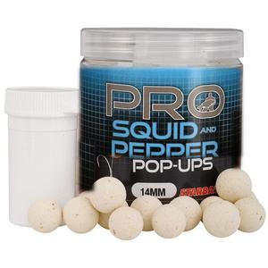Pop-Up Boilies Starbaits Probiotic 60g 14mm - Squid and Pepper