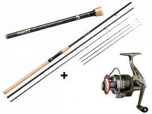Prut Giants Fishing Fluent Feeder XT 11ft Medium + naviják zdarma! - 1