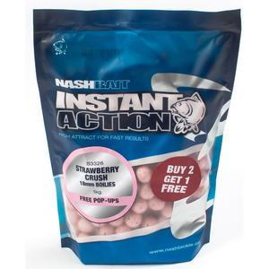 Boilie Kevin Nash Instant Action 1kg 20mm Strawberry Crush