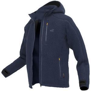 Mikina s kapucí Geoff Anderson Teddy - modrá vel. M - 1
