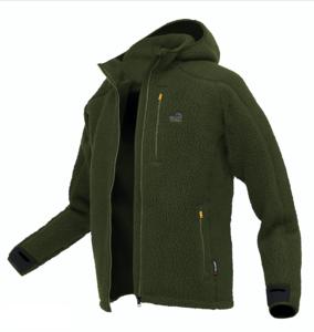 Mikina s kapucí Geoff Anderson Teddy - zelená vel. XL - 1