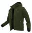 Mikina s kapucí Geoff Anderson Teddy - zelená vel. XL - 1/5