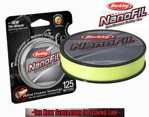 Nanofil Berkley 125m 0,12mm 6,934kg - Žlutý - 2