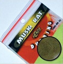 Muskrat Dubbing - ondatra MR22 - olivovo šedá - 2