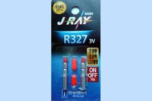 Elektrické světýlko do splávků 1ks 3x27mm - červené  - 2