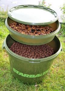 Kbelík na nástrahy Starbaits Bait Bucket 21L + vanička - 2
