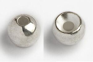 Kulička wolframová hladká Tungsten Head 10ks Stříbrná - 5,5mm - 2