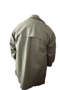 Kabát rybářský lovecký se zvýšeným límcem VINYTOL zelený - XL - 2