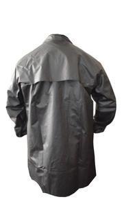 Kabát rybářský lovecký se zvýšeným límcem černý - M - 2