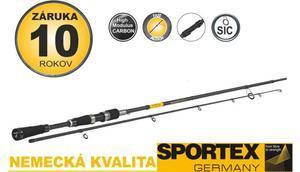 Prut Sportex Black Pearl GT-3 ULR 2,10m 2-8g - 2