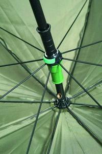 Deštník s bočnicemi Mivardi PVC 250cm Green  - 2