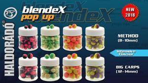 Haldorádó BlendeX Pop Up Method 8-10mm - Jahoda-Med - 2