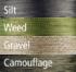 Návazcová pletená šňůra Climax Cult Hunters Braid 20m Weed - 45lb  - 2/3