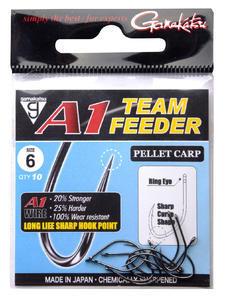 Háčky Gamakatsu A1 Team Feeder Pellet Carp - 3