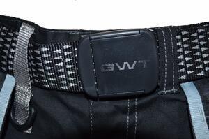 Pracovní kalhoty GWT s kapsami černé - L - 4
