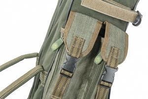 Tříkomorové pouzdro na pruty Mivardi Multi Green NEW 110cm - 4