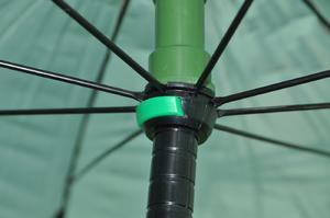 Deštník s bočnicemi Mivardi PVC 250cm Green  - 4