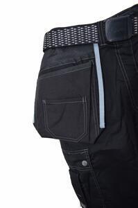 Pracovní kalhoty GWT s kapsami černé - L - 5