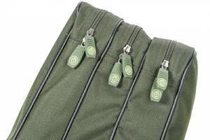 Tříkomorové pouzdro na pruty Mivardi Multi Green NEW 110cm - 5