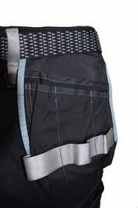 Pracovní kalhoty GWT s kapsami černé - L - 6
