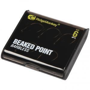 Háčky RidgeMonkey RM-Tec Beaked Point 10ks vel.6 - 7